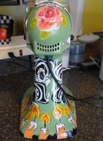 Day of the dead mixer rear view by someofmywork