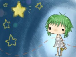 GUMI and The Little Bell by v-on