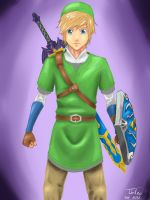 Skyward sword link again by Tirilno