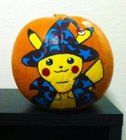 Pika-Pumpkin by KGScribbles