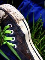Muddy shoes by peps4o