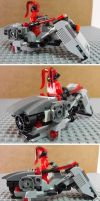 Darth Talon's Speeder by teamzoth