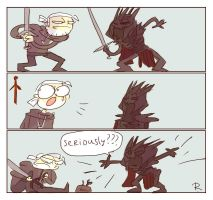 The Witcher 3, doodles 174 by Ayej