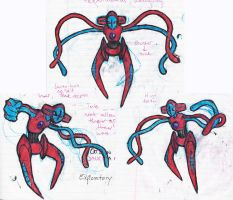Deoxys by little-ampharos
