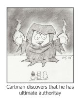 Cartman as the Time Trapper by MShades
