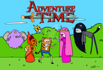 Adventure Time Costume Party Fanart Request by Slothgirlart