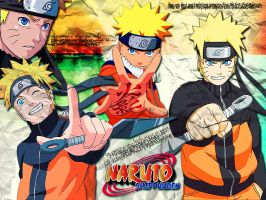 Uzumaki Naruto wallpaper by Ishily