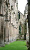 Rievaulx Abbey 21 - Stock by GothicBohemianStock