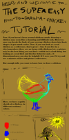 Chicken Drawing Tutorial by Wivoatt