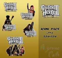Guitar Hero III Icon Pack by LaGrosseCale