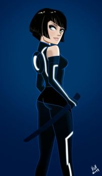Tron fan art by 7thorserider