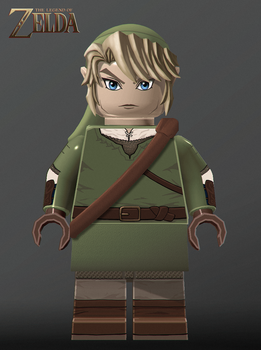 The Legend of Zelda LEGO Project - Link by Ragaru