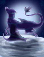 While the moon is young -CE- by iiDragonfantasyArt