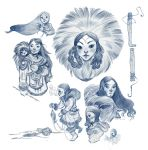 Inuits by Sally-Avernier