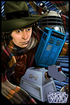 Doctor Who by dwaynebiddixart