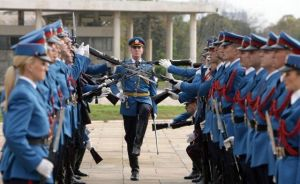 Serbian Guardsmen - Welcoming ceremony. by SerbPatriot