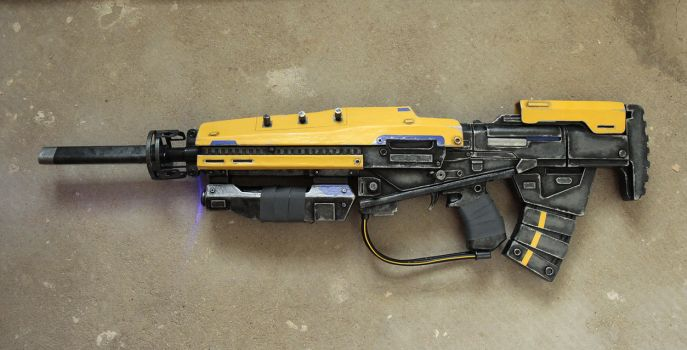 Cosplay Props: The Strangers' Rifle by LittleBlondeGoth
