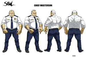 Chief Masterson by WinstonWilliams