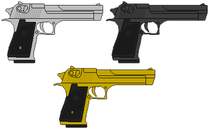 Desert  Eagle by DaltTT