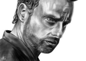 Rick Grimes by 5IC
