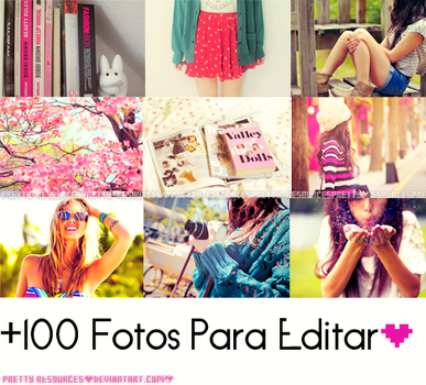+1OO Fotos Para Editar by Pretty-Resources