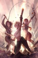 Danger Girl: Trinity #1 by AlexGarner