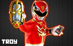 Power Rangers MegaForce: Red Ranger by ElijahVD