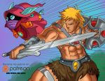 He-man Anime Illustration  Patreon Reward No 2 by JazylH