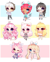 Smol chibi batch 4 by Shirouu-kun