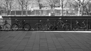 London 13 - Line of Bikes by umboody