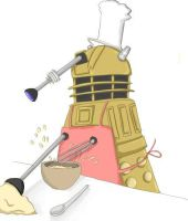 Dalek aka the mixer by dinamata