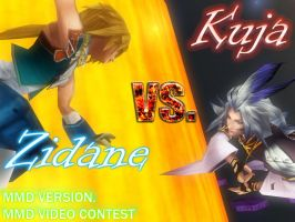 MMD Contest: Zidane vs Kuja by FantasyYitan