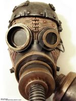 Steam Punk Steam Mask by ben9378