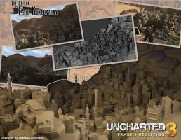 Uncharted 3 Yemen by vonkoz