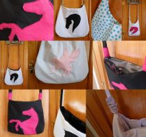 Horsey Tote Bags - Comp Prizes by EmrT