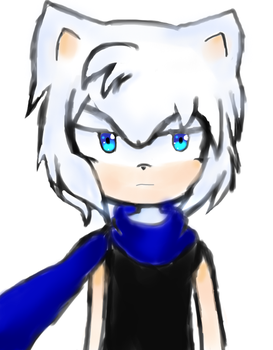 Zeref The Hedgehog (New Character) by luini