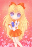 Sailor Venus by miss-octopie