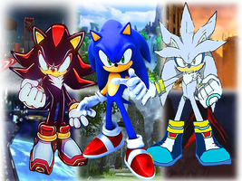 Sonic The Hedgehog Awesome Wallpaper2 by 9029561