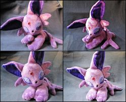 Espeon beanie by nightelfy