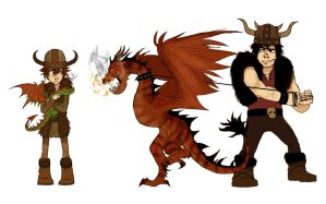 HTTYD project test by Detkef