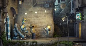 Machinarium CGI by sanfranguy