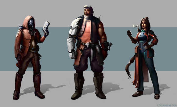 Rimworld Characters by F87w