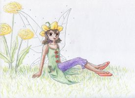 Disney Fairies: Lily by NormaLeeInsane