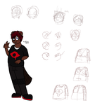 Keith Summerstone Finalized Character Design by DrJoshfox