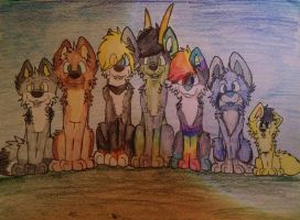 .::family photo::. by T0KiBUTT