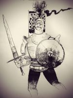 Another knight of some description. by Digit-XII