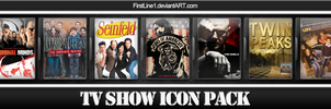 TV Show Icon Pack 19 by FirstLine1
