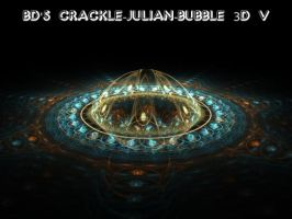 BD's 3D Crackle-JuliaN-Bubble by Fractal-Resources