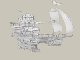Pirate Ship Idea by thlbest