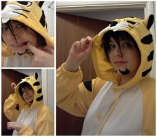 Tiger Cosplay Onesie 1 by KirstyTron